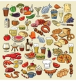 color food vector image