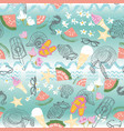 colorful retro summer beach vacation background