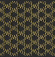 geometric elegant seamless pattern vector image vector image
