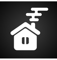 Isolated house symbol vector image vector image