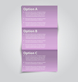 Option banner vector | Price: 1 Credit (USD $1)