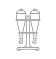soda siphon equipment icon vector image
