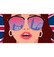 Visit London Learn English vector image