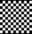 black and white checkered seamless pattern vector image