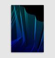 line art minimalistic modern brochure design vector image vector image