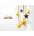 merry christmas and 2018 new year background for vector image vector image