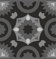 tile black decorative floor tiles pattern vector image