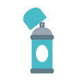 aerosol can blank label icon image vector image vector image