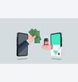buy drugs from doctors online drugstore vector image vector image