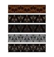clothing decor webbing pattern design straps vector image