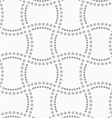 Dotted doubled rectangles vector image vector image