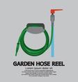 Garden Hose Reel vector image vector image
