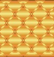 Gold Metal Texture Background Decorative Design vector image vector image