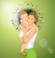Motherhood vector image