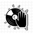 musical concept design vector image