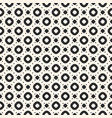 seamless pattern with circles rings and dots vector image vector image
