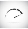 Simple tachometer speedometer icon performance vector image vector image