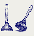 Toilet plunger vector | Price: 1 Credit (USD $1)
