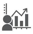 user analysis glyph icon data and analytics
