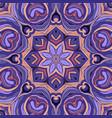 vintage seamless pattern mandala ornament vector image vector image