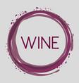 wine bubble liquor beverage vector image vector image