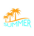 abstract summer label vector image