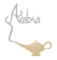 Arabia symbol vector image