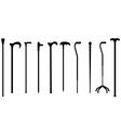 canes black vector image vector image