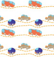 car road seamless texture vector image vector image