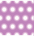 circles seamless fabric pattern vector image vector image