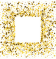 frame or border of stars vector image vector image