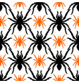 seamless pattern with tarantula vector image vector image