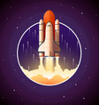 Space Shuttle Launch vector image