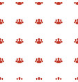 user group icon pattern seamless white background vector image vector image