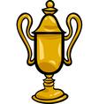 winner cup clip art cartoon vector image vector image