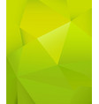 abstract green background with many triangle vector image