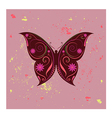 amazing butterfly vector image vector image