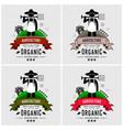 farmer farming logo design artwork of a vector image
