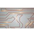 futuristic techno texture vector image vector image