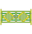 green gate vector image