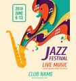 international jazz day background vector image vector image
