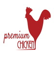 premium chicken1 resize vector image vector image