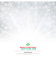 winter white background christmas made of vector image vector image