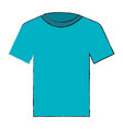 cotton casual tshirt icon vector image