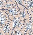Vintage doodle pattern vector image