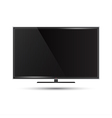 a modern flat screen televi vector image