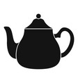 big kettle icon simple style vector image