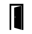 door open vector image