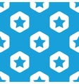 Favorite hexagon pattern vector image vector image
