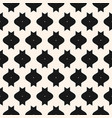 funky monochrome texture seamless pattern vector image vector image